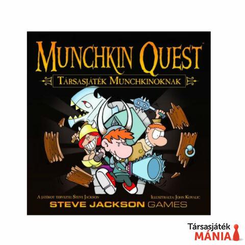 Delta Vision Munchkin Quest-társasjáték Munchkinoknak
