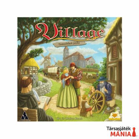 Delta Vision Village társasjáték- Nemzedékek játéka