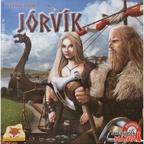 Eggertspiele Jórvik társasjáték
