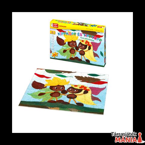 Kippkopp és Tipptopp Puzzle (64 darabos) társasjáték
