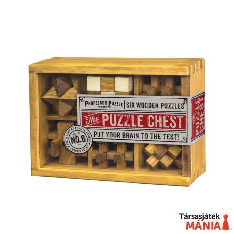 PP The Puzzle Chest fa ördöglakat szett