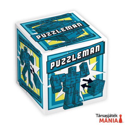 Puzzleman Professor Puzzle logikai játék, kék