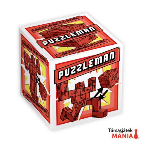 Puzzleman Professor Puzzle logikai játék, piros