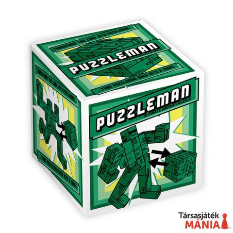 Puzzleman Professor Puzzle logikai játék, zöld