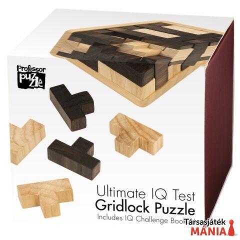 Gridlock Professor Puzzle fa logikai játék