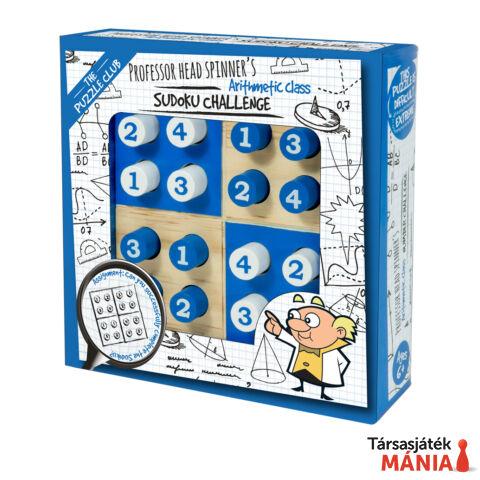 Professor Head Spinner's Sudoku Challenge logikai játék