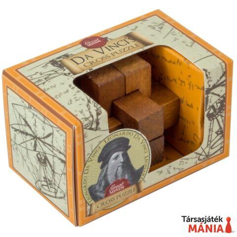 Nagy Elmék Da Vinci Kereszt mini Professor Puzzle ördöglakat