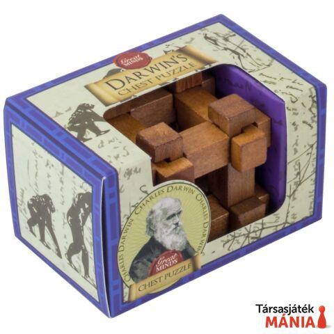 Nagy Elmék Darwin Láda Professor Puzzle mini ördöglakat