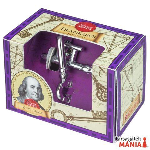 Nagy Elmék Franklin Kulcs Professor Puzzle ördöglakat