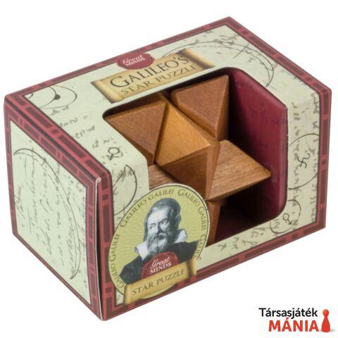 Nagy Elmék Galileo Csillag mini Professor Puzzle ördöglakat