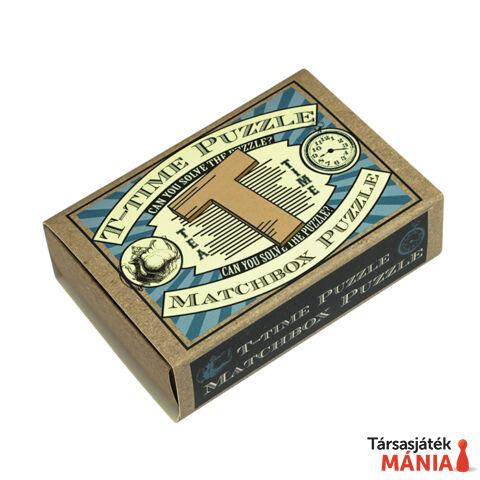 T-Time Puzzle Matchbox Professor Puzzle ördöglakat