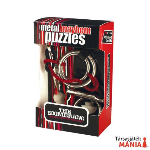 The Boomerang fém Professor Puzzle ördöglakat