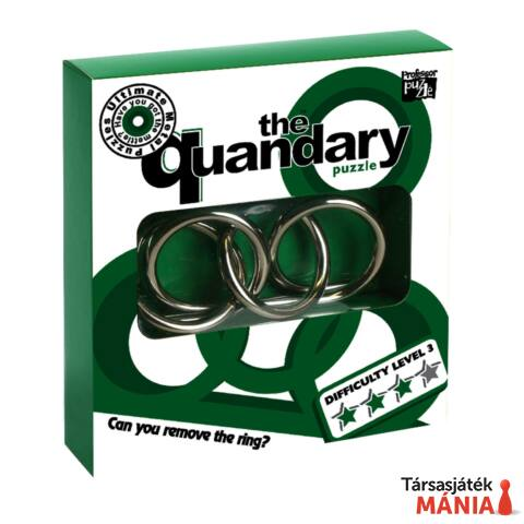 The Quandary fém Professor Puzzle ördöglakat