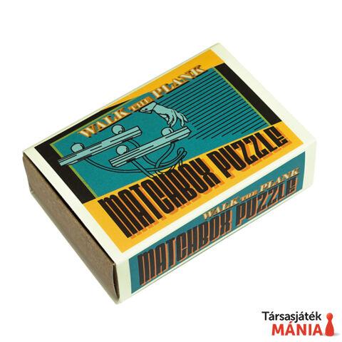 Walk the Plank Matchbox Professor Puzzle ördöglakat