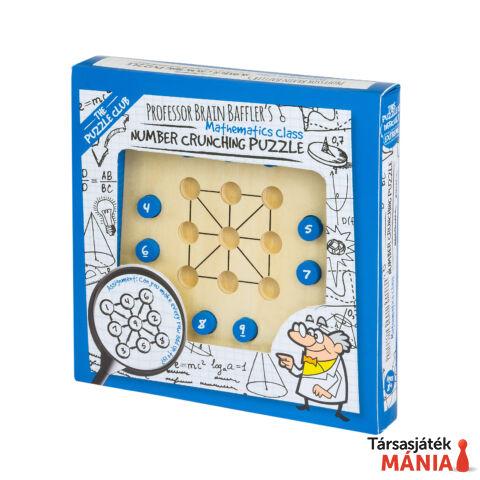 Brain Baffler's Number Crunching Professor Puzzle logikai kirakó