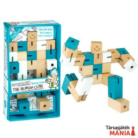 Professor Egg Head's Human Cube logikai játék