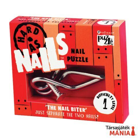 The Nail Biter Professor Puzzle ördöglakat
