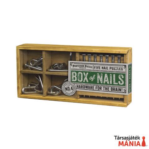 PP Box of Nails fém ördöglakat szett