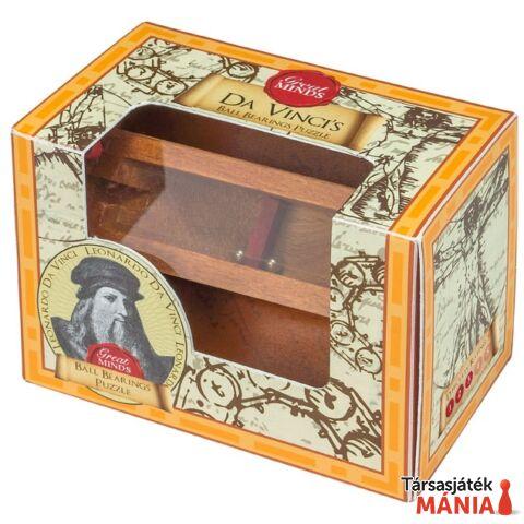 Nagy Elmék Da Vinci Csapágy Professor Puzzle ördöglakat