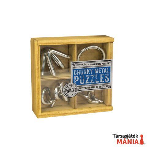 PP Chunky Metal Puzzles fém ördöglakat szett