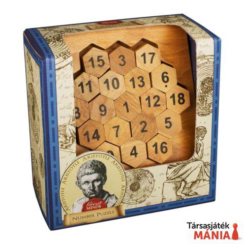 Nagy Elmék Arisztotelész Számok Professor Puzzle ördöglakat