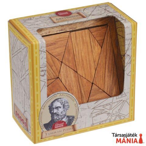 Nagy Elmék Arkhimédész Tangram Professor Puzzle ördöglakat