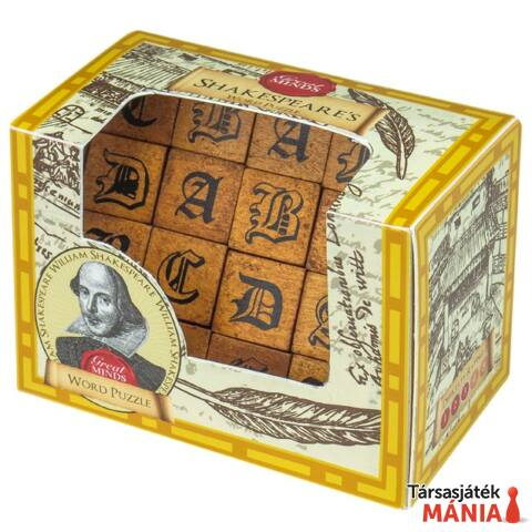 Nagy Elmék Shakespeare Szavak Professor Puzzle ördöglakat